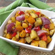 Roasted Vegetable Medley {and Happy New Year!}