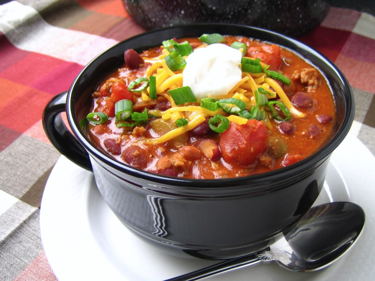 Grandpa's Chili {Chili January}