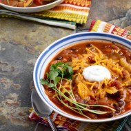 Vegetarian Chili {and Chili January Recap}