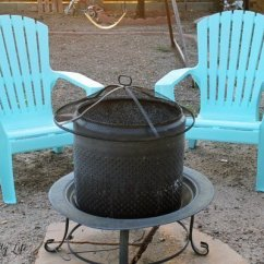How To Paint Plastic Chairs Make A Chair Slipcover Spray Laura S Crafty Life Your Adirondack Them Like New Again