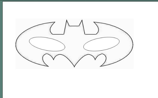 How To Batman Mask Laura39s Crafty Life