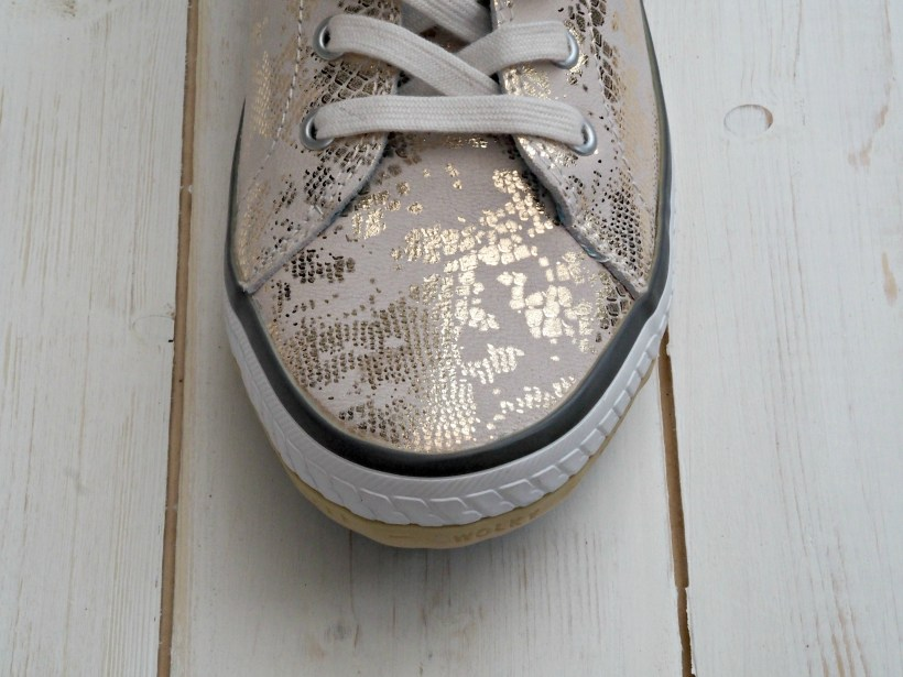 Wolky 1225 Biker Shoes Review - toe close up
