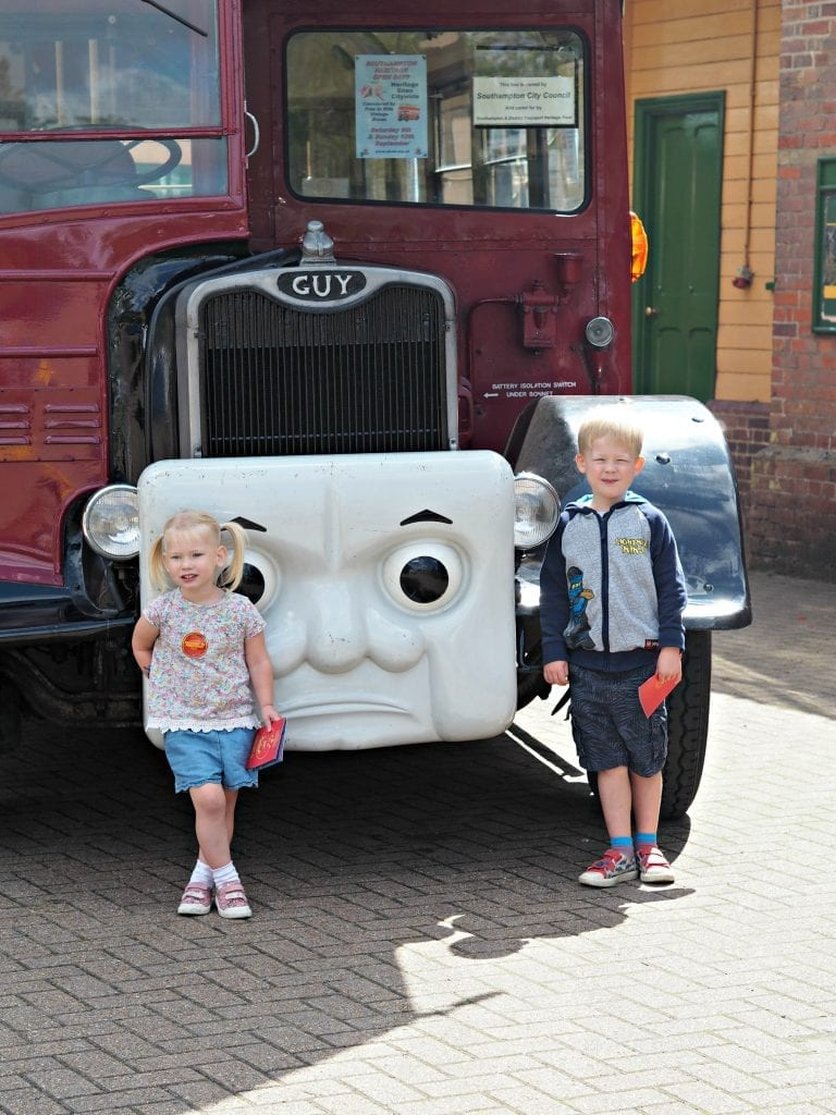 Day out with Thomas at the Watercress Line - Elizabeth