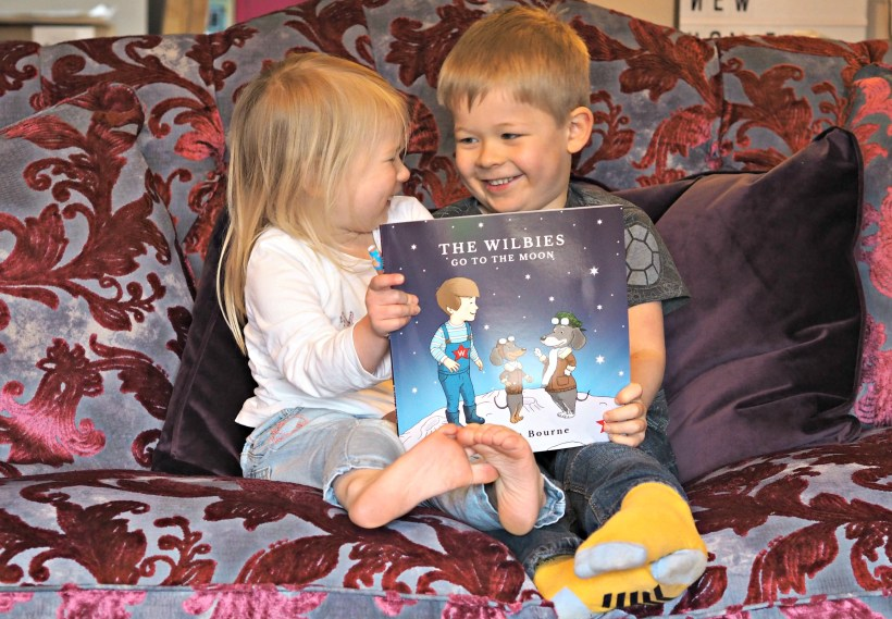 CHILDREN'S BOOK REVIEW The Wilbies go to the Moon