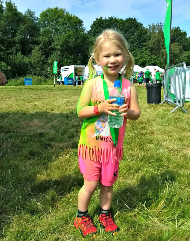 NSPCC Messathon Review - Aria with medal