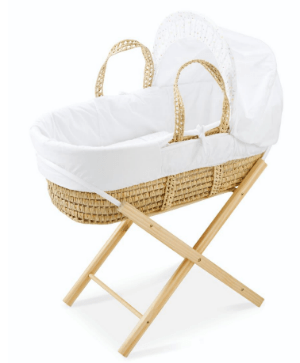 Moses Basket and Stand Bundle (£29.99)