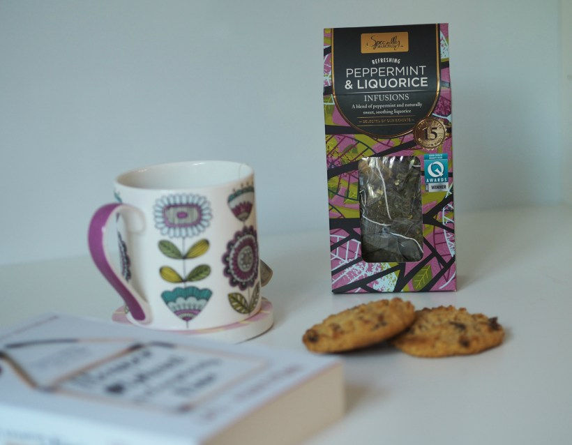 Making Time for Me after the Summer Holidays with Aldi - tea and biscuits