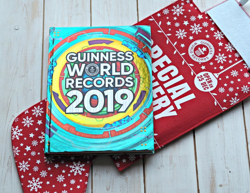 Guinness Book of Records 2019 - book cover