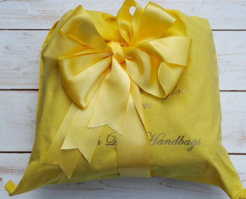 AT of London Handbag Review - packaging