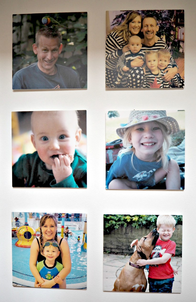 Creating a Photo Wall with MyPicture.co.uk - close up 2