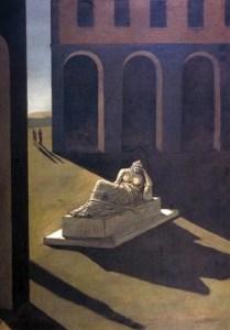Giorgio de Chirico: Melancolía, 1.912
