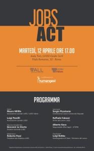 Invito Jobs Act - LUISS 12 aprile h. 17