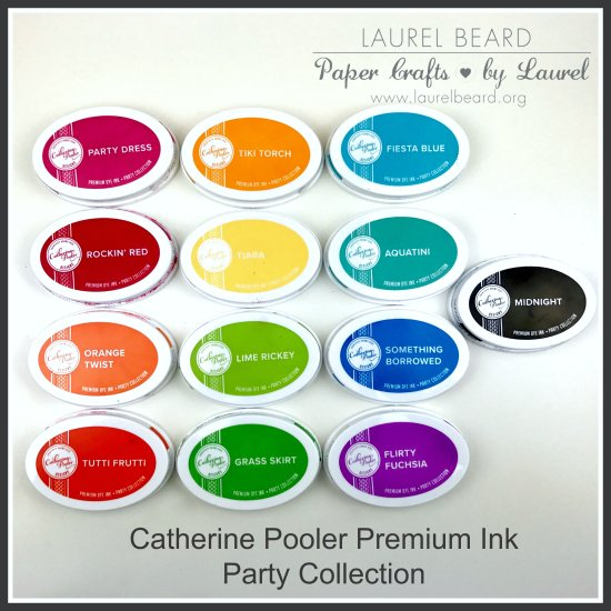 Catherine Pooler Ink party collection laurel beard