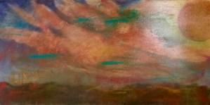 "Painting by Laurel Landers titled ""Sunrise"""