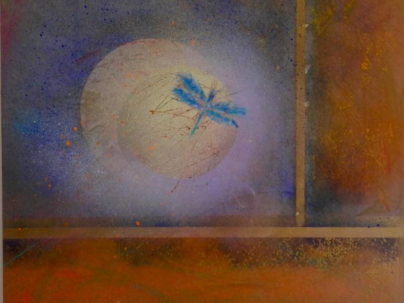 """Painting by Laurel Landers titled """"Memory"""""""