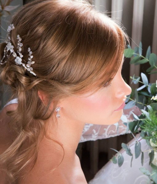 Gardenia Bridal Headdress