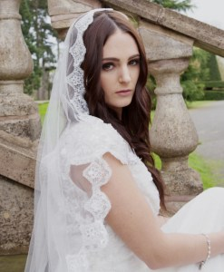 Mantilla Wedding veil