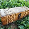 Box Wooden Celtic Knot Mango Tree Jewelry Handmade Symbol Carved Eco Friendly Home Decor Trinket