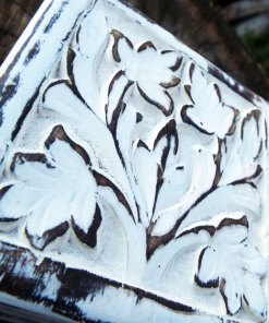 Box Wooden Flower Jewelry Carved Antique Vintage Handmade Home Decor Indian Floral Mango Tree Wood Trinket Treasure Chest Eco Friendly