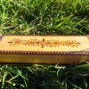 Box Wooden Handmade Pencil Box Pencilcase Indian Balinese Trinket Hand Painted Jewelry Bohemian