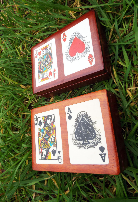 Wooden Tarot Cards Box