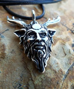 Dionysus Panas Pendant Silver Handmade Necklace Sterling 925 Ancient Greek God Symbol Gothic Jewelry