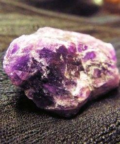 Kenyan Amethyst Rough Gemstone Solid Faceted Rock Untouched Spiritual Healing