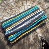 Tobacco Pouch Cotton Handmade Fabric Case Pocket Hand Stitched Hippie Boho