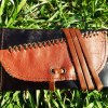 Tobacco Pouch Leather Case Handmade Pocket 6