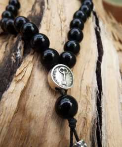 Black Onyx Komboloi Greek Worry Beads Prayer Beads Rosary Beads Turkish Tasbih Handmade Gemstone