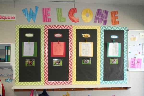 Preschool Classroom Parent Bulletin Board
