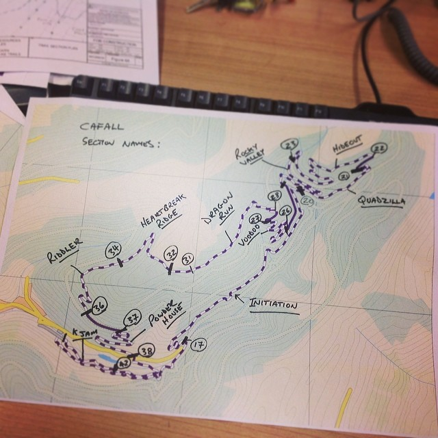 Cwmcarn Cafall Trail Map
