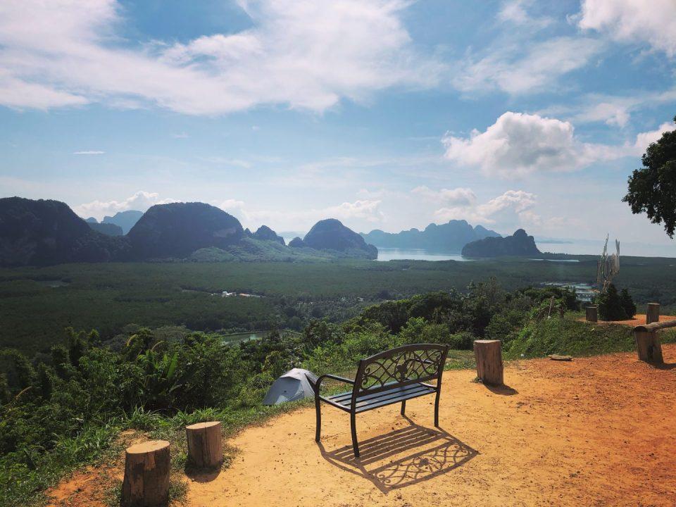 Samet Nangshe Viewpoint Phuket Thailand