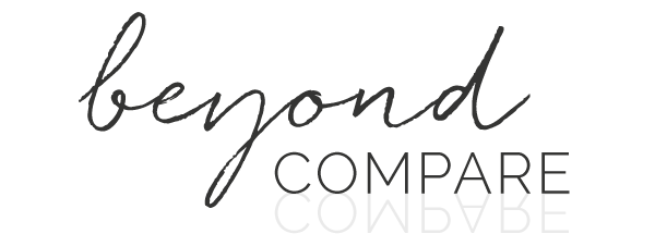 Moving Beyond Compare –and Learning to Take My Own Advice