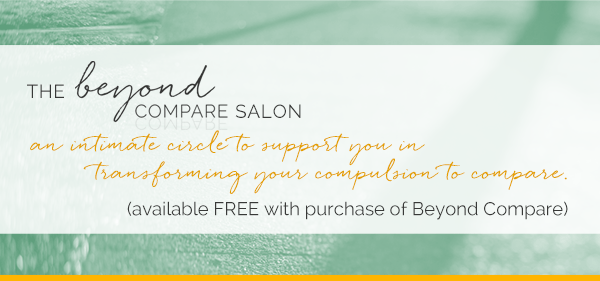 Announcing the Beyond Compare Salon (and a more personal bit of news)
