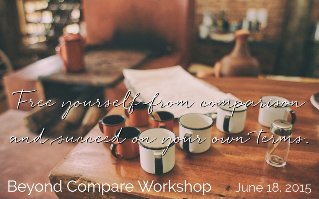 Vancouver! The first-ever LIVE Beyond Compare workshop is happening.