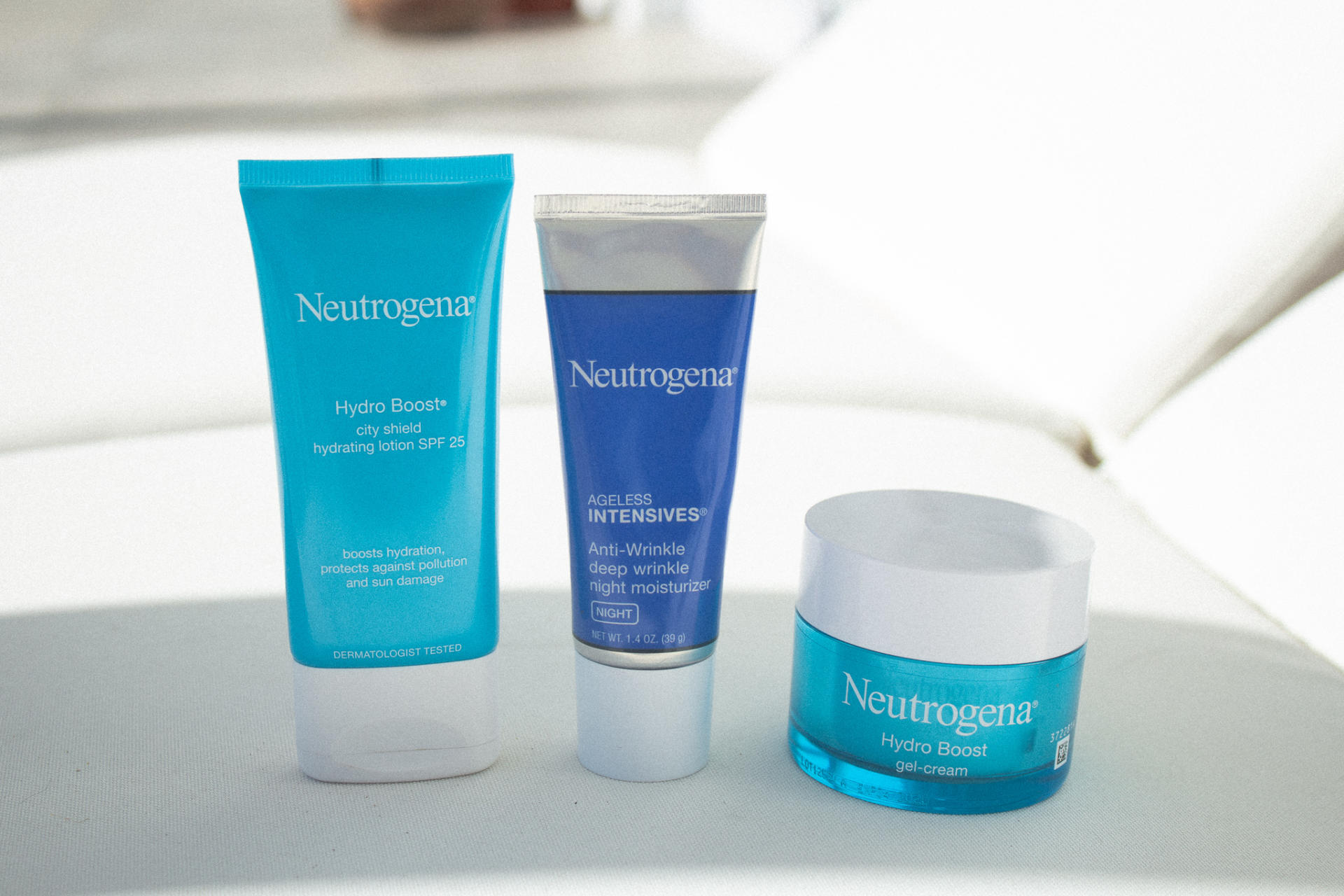 Hydrated skin products