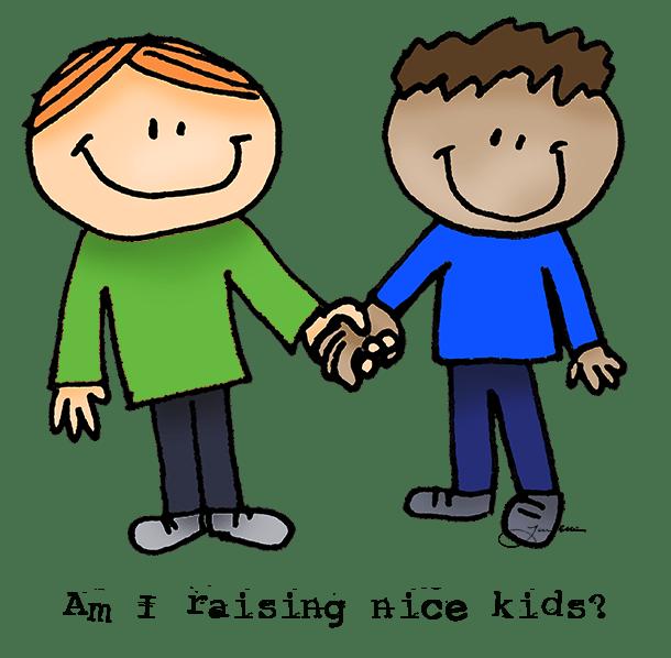 Raising good kids