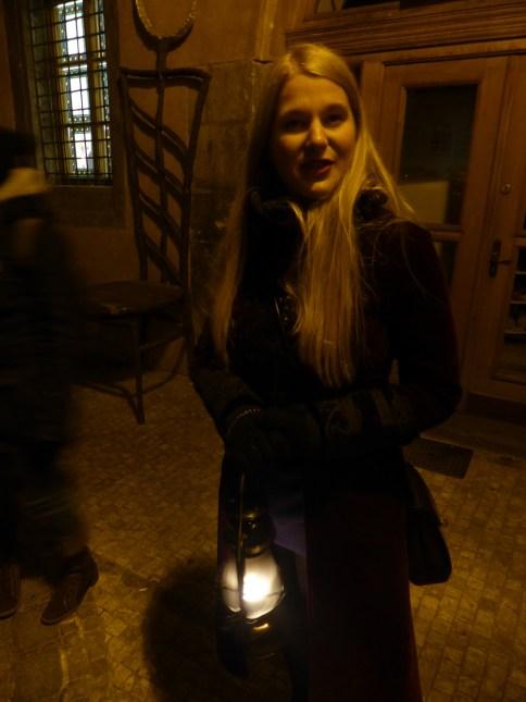 Ghost tour Prague Czech Republic