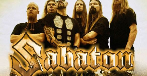 Sabaton Swedish power metal band