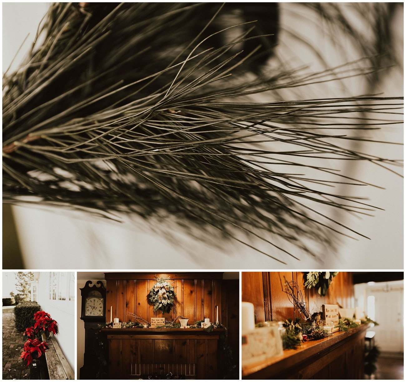194a506309bc Hannah + Brian    Christmas Cabin Wedding – Lauren F.otography