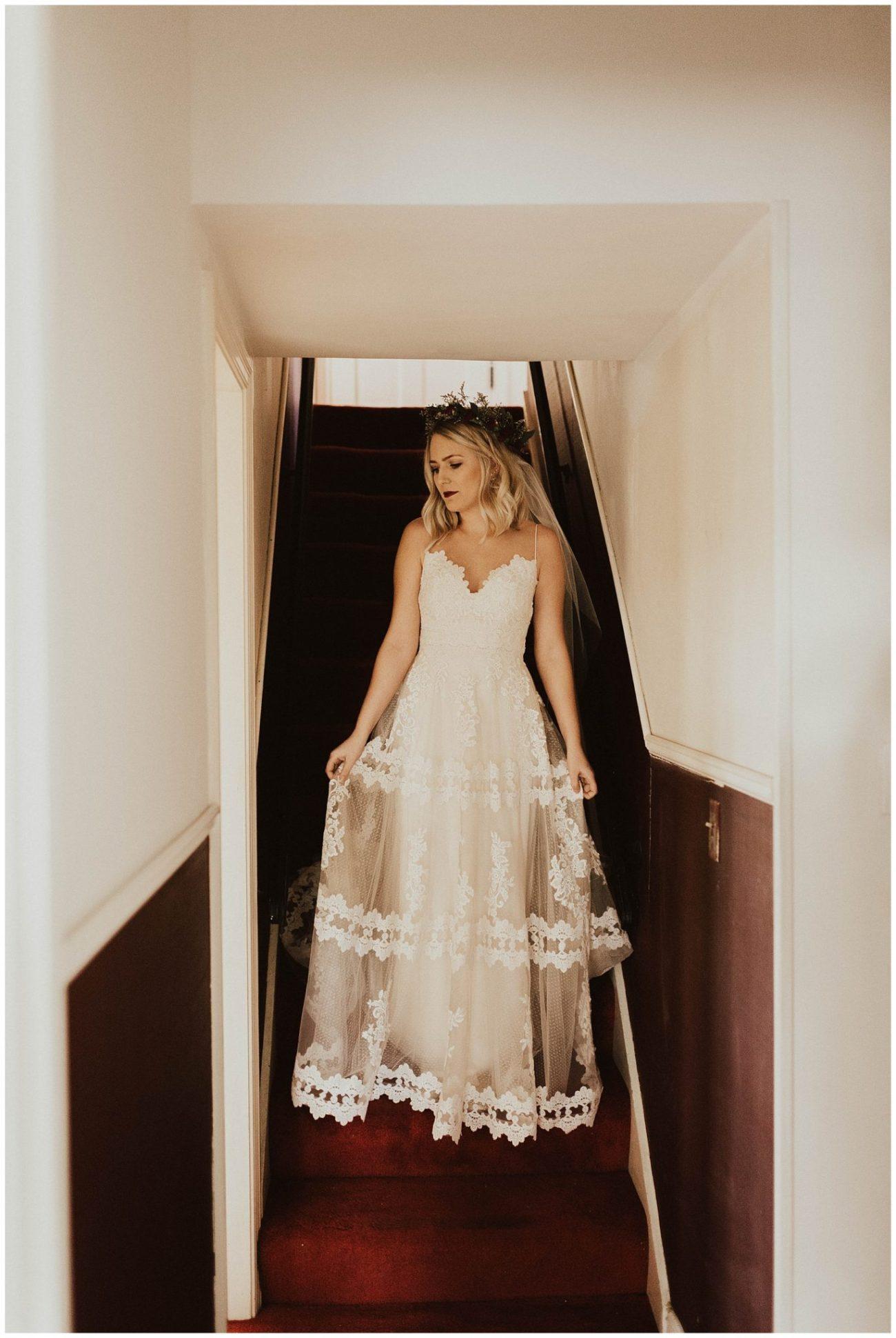 17289ad1cbf Hannah + Brian // Christmas Cabin Wedding - Lauren F.otography ...