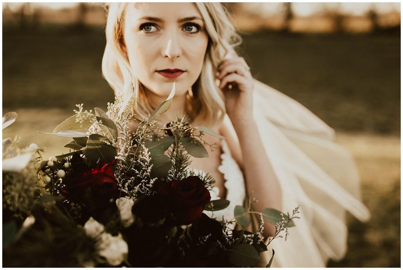 304e295c01 Hannah + Brian // Christmas Cabin Wedding - Lauren F.otography ...