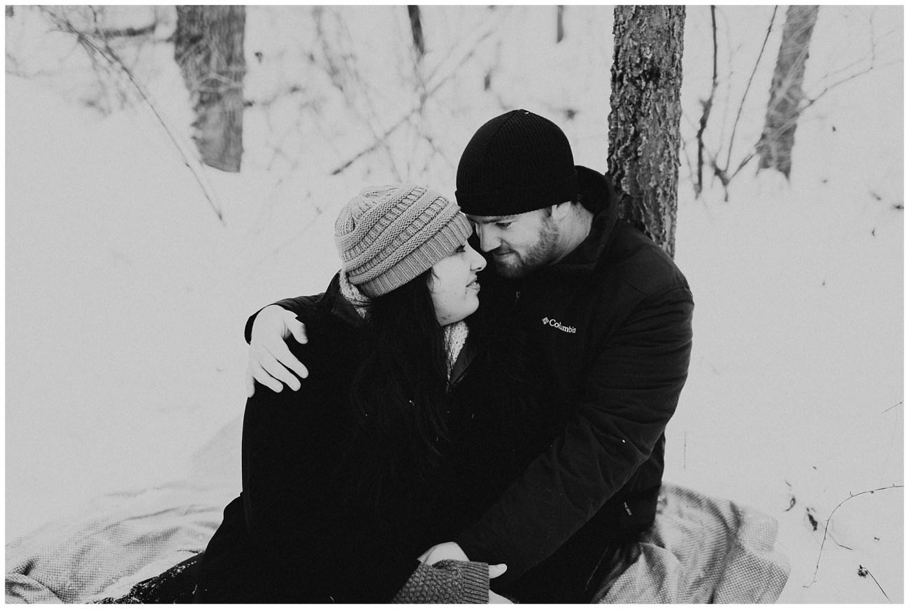 c523bee699fc8 Ben + Lainee    Winter Engagements - Lauren F.otography