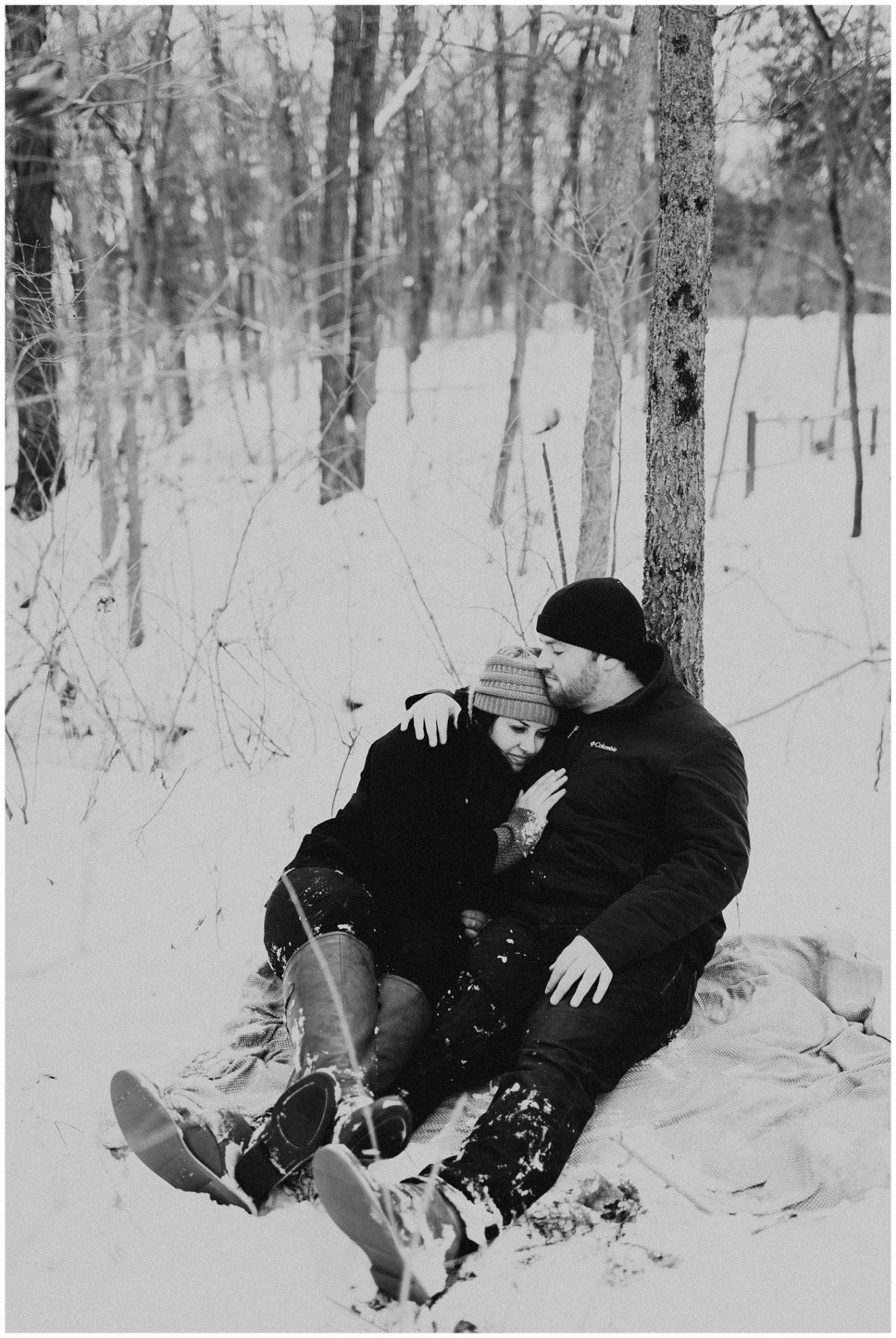 3f337957e47f2 Ben + Lainee    Winter Engagements – Lauren F.otography