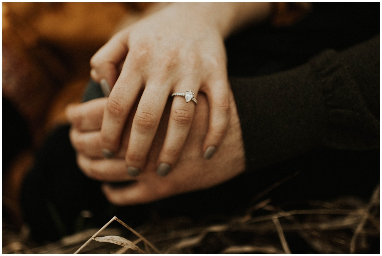 a8777e4a73ef Charlie + Tiffany // Engagements in the woods - Lauren F.otography ...