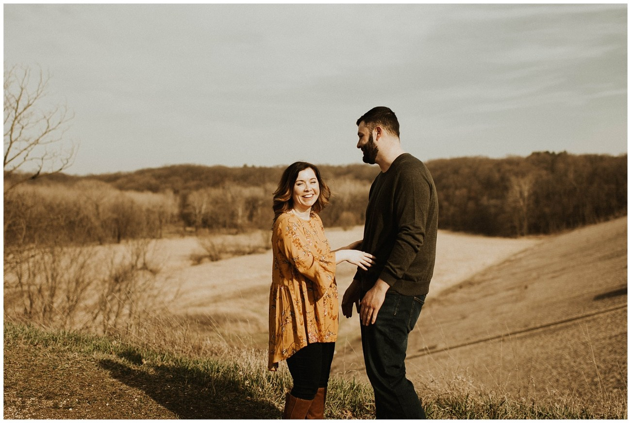 65bd9e477 Charlie + Tiffany    Engagements in the woods - Lauren F.otography