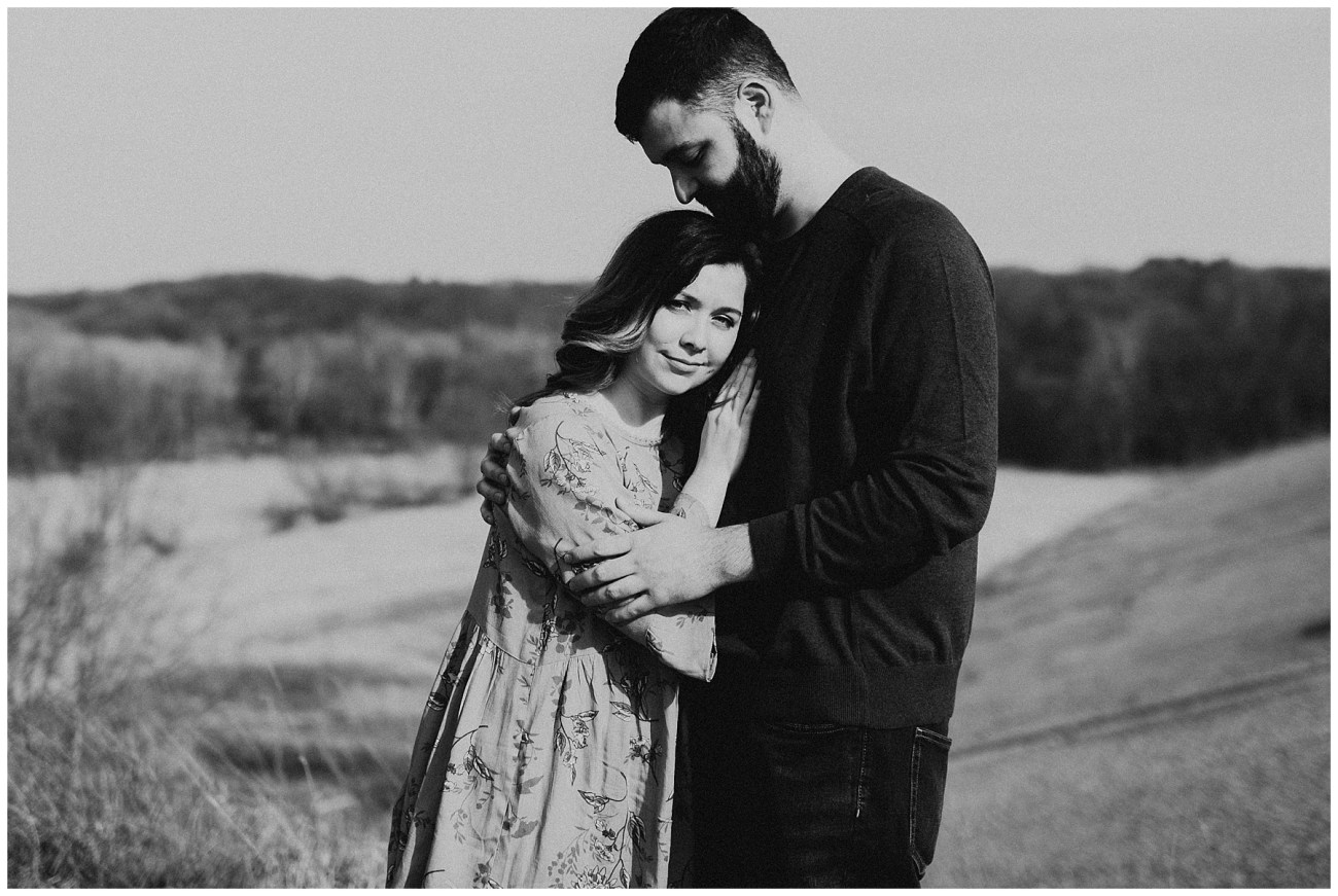 3ec45b9959cf9 Charlie + Tiffany    Engagements in the woods – Lauren F.otography