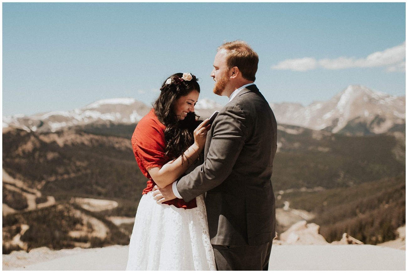18c63c913436 Ben + Lainee    Desert Colorado Wedding - Lauren F.otography