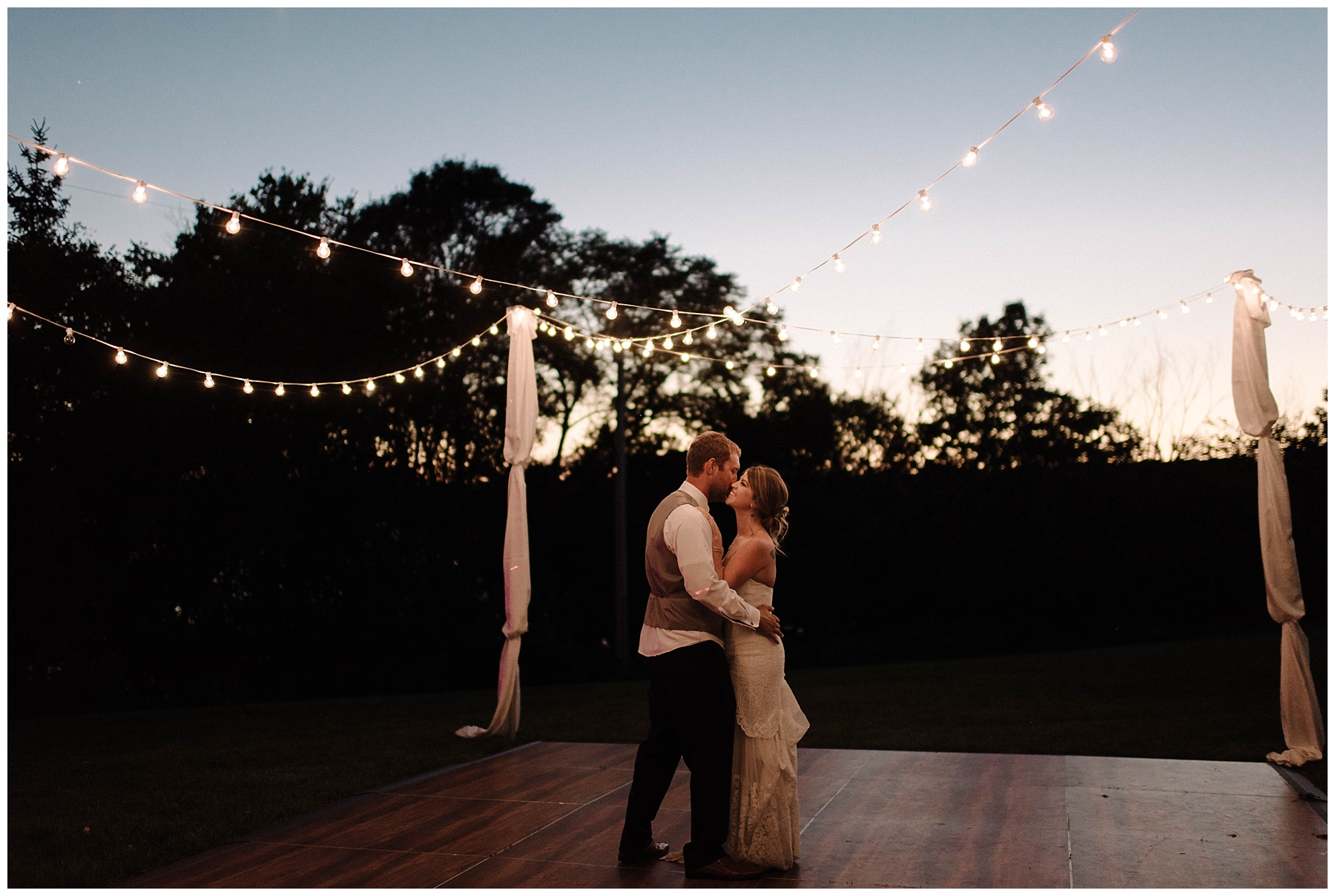 Kyle + Devyn | Outdoor summer wedding Lauren F.otography